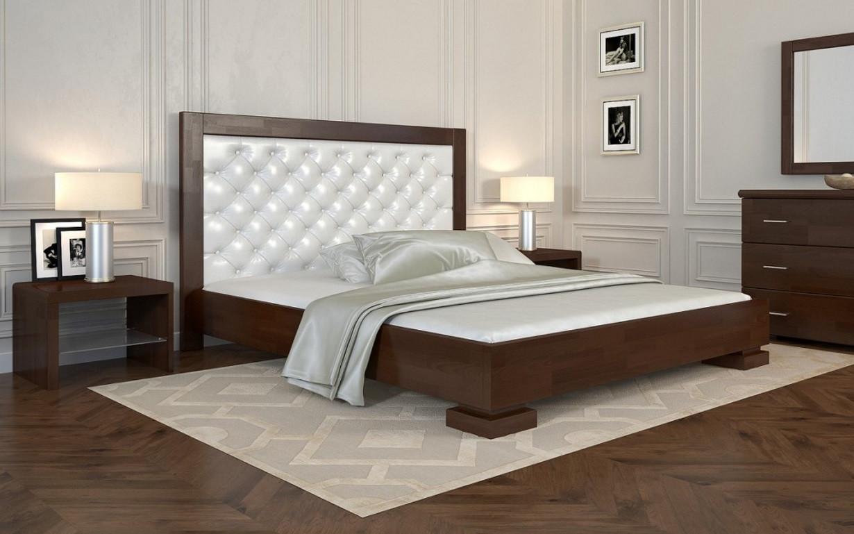 Деревянная кровать Подиум Бук 160х190 см. Arbor Drev