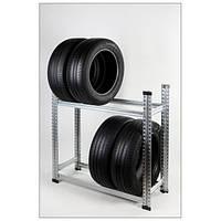 Стеллаж металический для хранения  до 8 колес