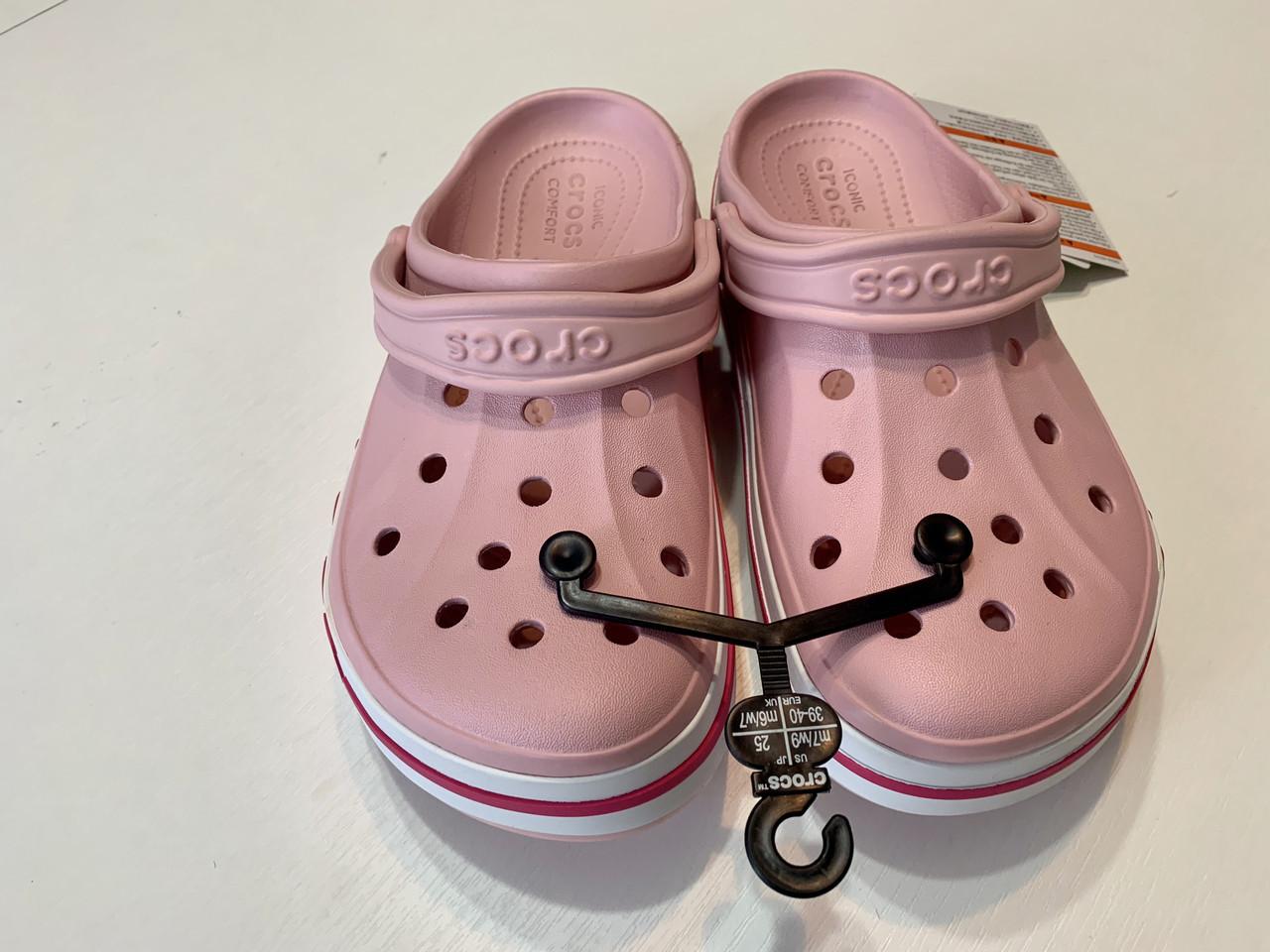 Кроксы женские Crocs Bayaband Clog Pearl 37 разм.