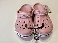 Кроксы женские Crocs Bayaband Clog Pearl 37 разм., фото 1