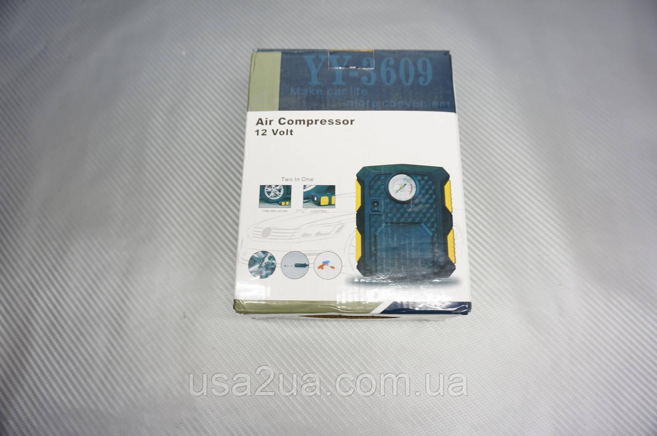 Новый автоматический Воздушный компрессор YY-3609 12V air compressor гарантия
