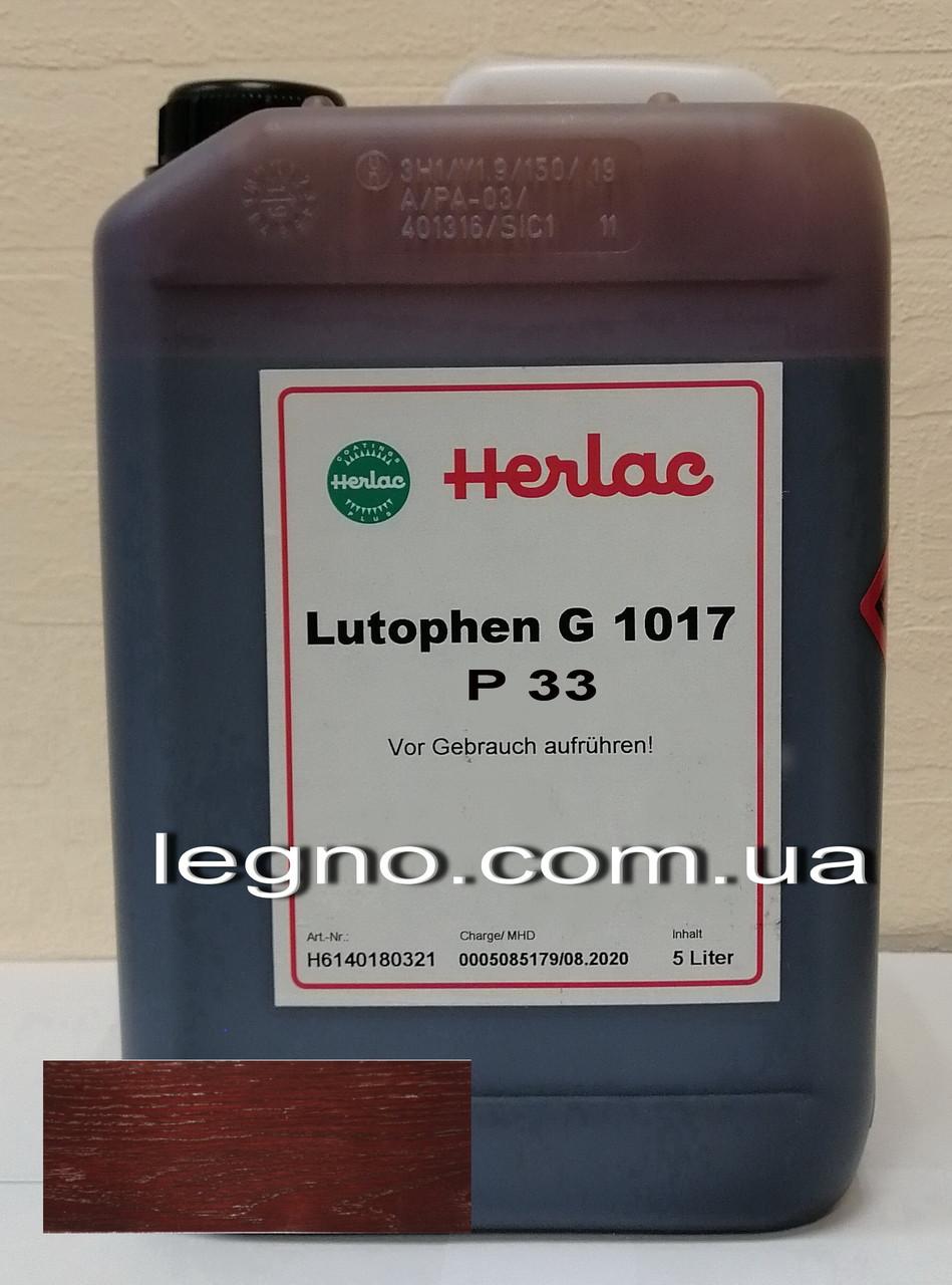 Нитрокраситель (нитробейц, морилка, краситель для дерева) Лютофен Р33 Палисандр 5 л Herlac, Германия