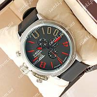 Часы мужские U-boat Italo Fontana Silver-Black-Red 3905