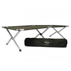 Кровать раскладушка Mil-Tec US Style алюминиевая олива