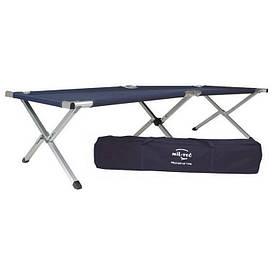 Кровать раскладушка Mil-Tec US Style алюминиевая синяя