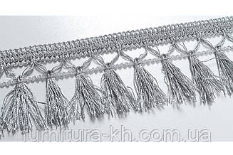 Бахрома 7 см, 16 м в рулоне цвет серый