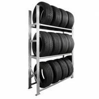 Стеллаж металлический для хранения  до  12 колес
