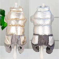 Одежда для маленьких собак модная осенне-зимняя куртка для собак, фото 2