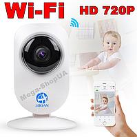 Беспроводная WiFi Вай Фай IP камера видеонаблюдения для дома, квартиры, видеоняня. Камера відеонагляду YV432R
