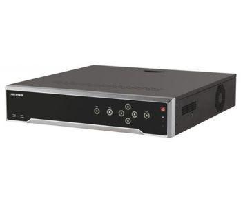 DS-7732NI-K4/16P  32-канальный NVR c PoE коммутатором на 16 портов