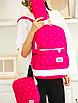 Рюкзак женский городской в горошек Werring Розовый, фото 3