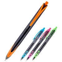 Ручка шариковая автоматическая Axent Bicolor AB1089-02-A, 0.5 мм, синяя
