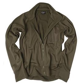 Куртка флисовая легкая Mil-Tec олива