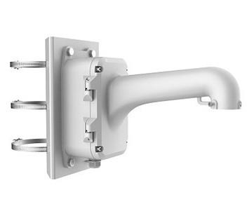 DS-1604ZJ-box-pole  Кронштейн для крепления на столб для PTZ камер