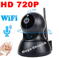 Беспроводная поворотная WiFi Вай Фай IP камера видеонаблюдения для дома, квартиры. Камера відеонагляду SD564B