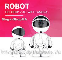 Поворотная WiFi Вай Фай IP камера видеонаблюдения для дома, квартиры, видеоняня. Камера відеонагляду GF987C