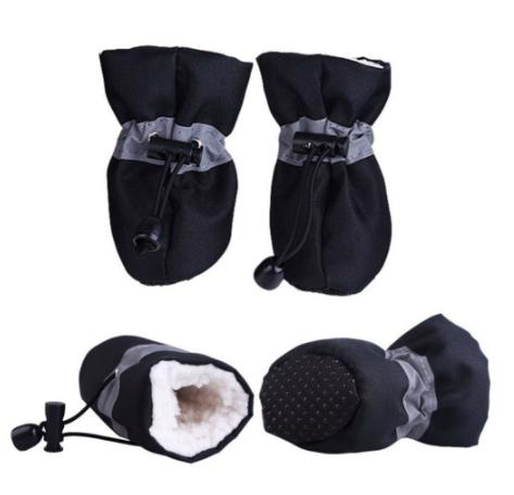 Обувь для собак, ботинки для собак, теплая обувь для собак, зимние ботинки для собак