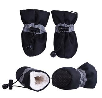 Взуття для собак, черевики для собак, тепле взуття для собак, зимові черевики для собак, фото 2