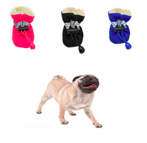 Обувь для собак, ботинки для собак, теплая обувь для собак, зимние ботинки для собак, фото 2