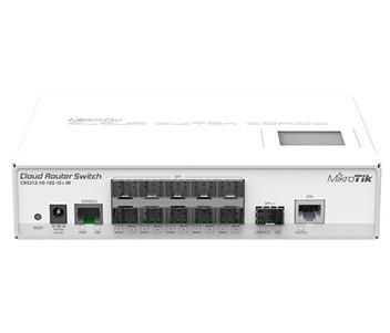 CRS212-1G-10S-1S+IN  Управляемый Cloud коммутатор