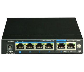 UTP3-GSW04-TPD60  4-портовый POE коммутатор