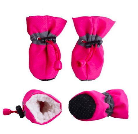 Взуття для собак, черевики для собак, тепле взуття для собак, зимові черевики для собак