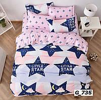 Семейный комплект постельного белья Звезда