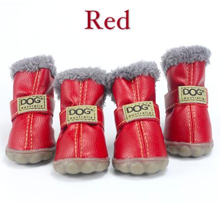 Угги для собак, обувь для собак, ботинки для собак, теплая обувь для собак, зимние ботинки для собак
