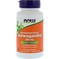 Ашваганда Now Foods, 90 капс. по 450 мг, Ashwagandha