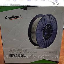 Дріт нержавіючий ER308 d 1.2 мм кат. D200-5 (5 КГ)