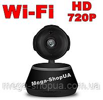 Беспроводная поворотная WiFi Вай Фай IP камера видеонаблюдения для дома, квартиры. Камера відеонагляду XD0533V