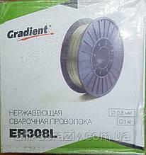 Дріт нержавіючий ER308 d 0.8 мм катушка D100-1