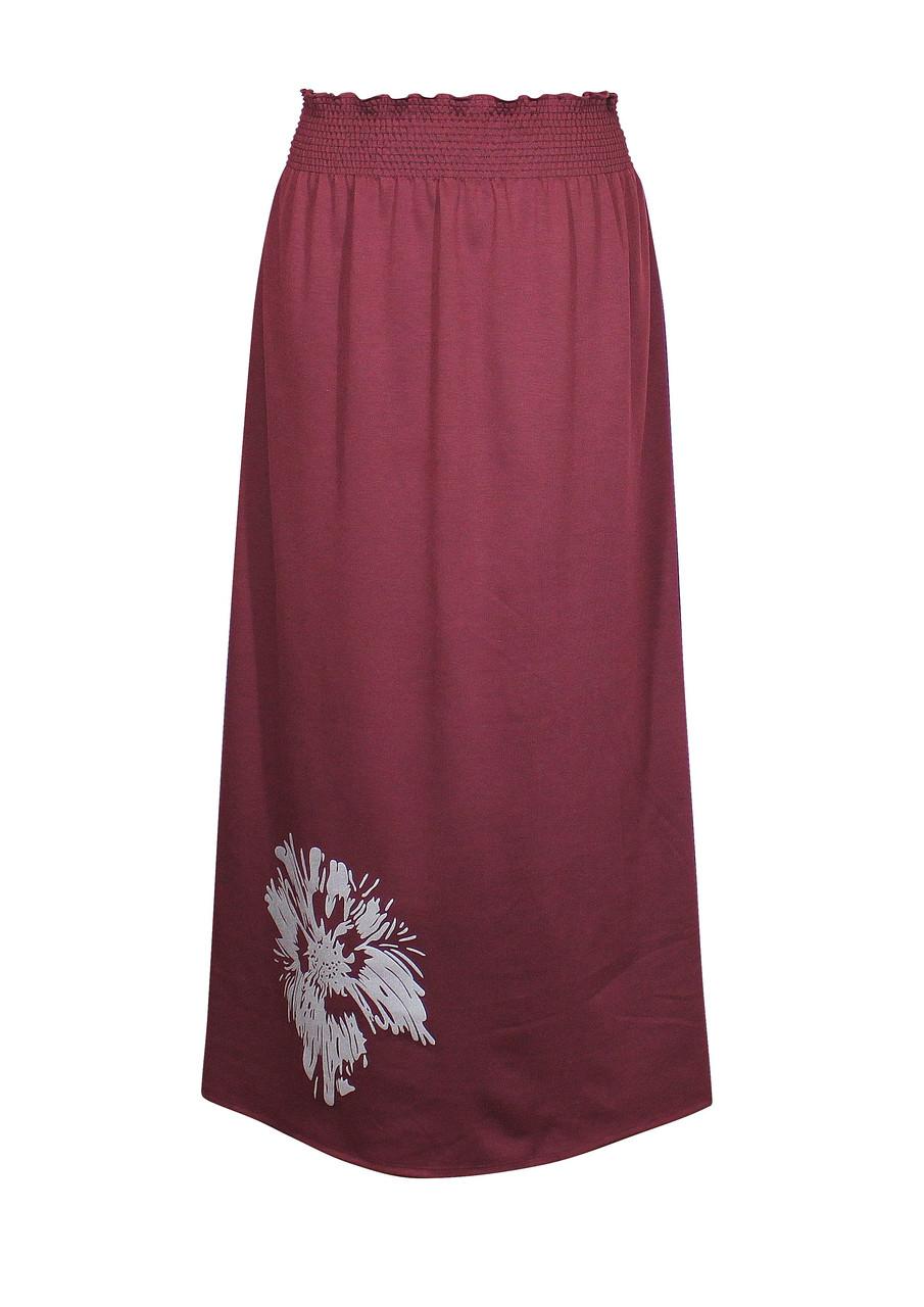 Трикотажная юбка для полных Лилея