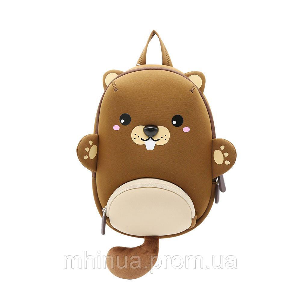 Дитячий рюкзак Nohoo Бобер (NHB182)