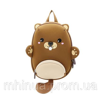 Дитячий рюкзак Nohoo Бобер (NHB182), фото 2