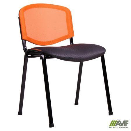 Офисный стул Изо Веб с сеткой черный AMF