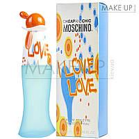 Женская туалетная вода Moschino I Love Love EDT 100 мл. | Лицензия Объединённые  Арабские Эмираты