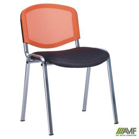 Офісний стілець З Веб з сіткою хром AMF