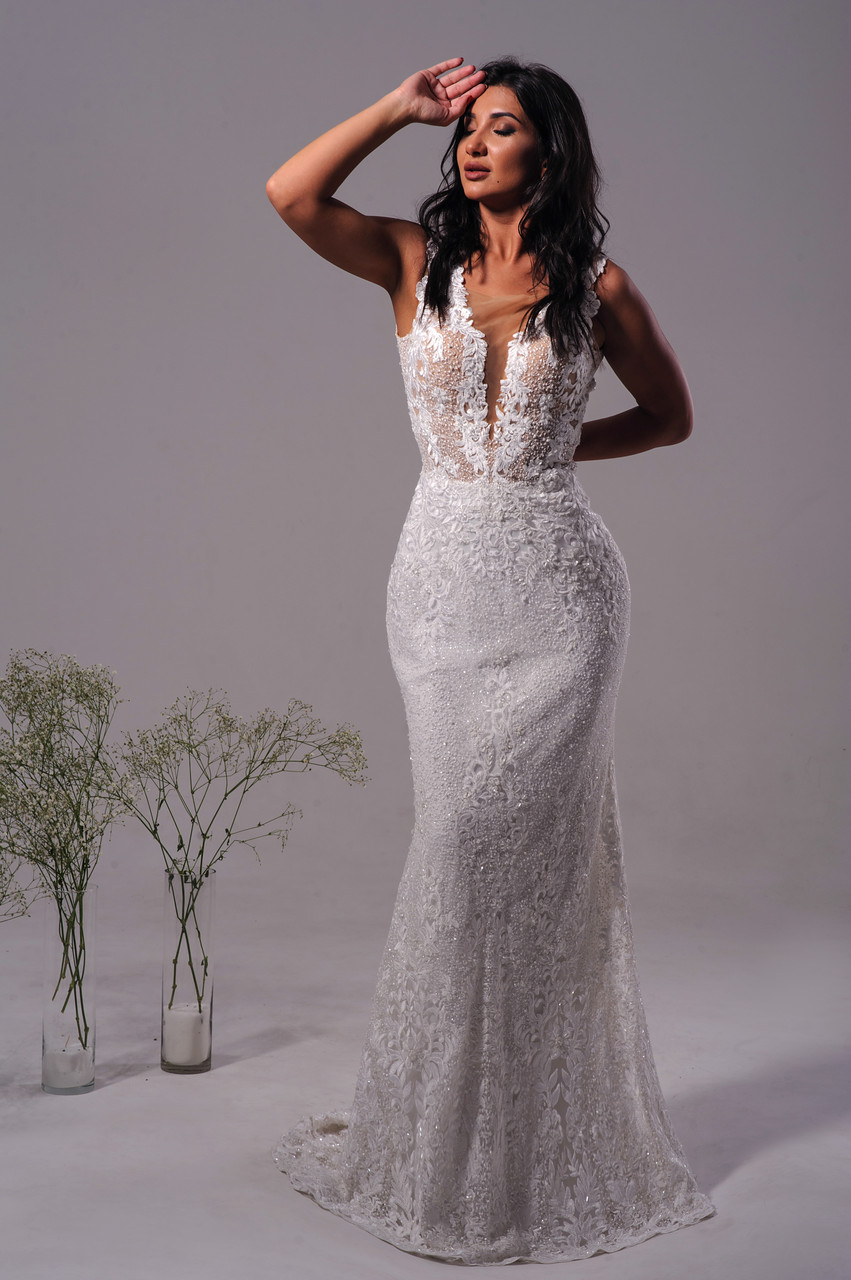 Весільна сукня Вечернее платье. Платье рыбка. Вечірня сукня. Очень к