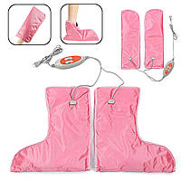 Электрические варежки и сапоги, с вибро массажем,  уход, за руками, за ногами, термоварежки, термосапожки, для СПА процедур, комплект, инфракрасная