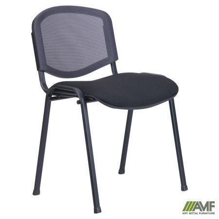 Офісний стілець З Веб чорний з сіткою/тканина А-1 AMF