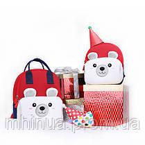 Детский рюкзак Nohoo Мишка с муфтой (NHQ004), фото 3