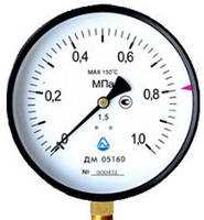 Манометр ДМ 05-01 (корпус 160; класс точности 1,5;1)