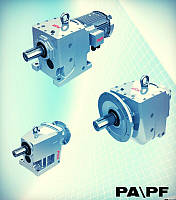 Мотор - редуктор цилиндрический с параллельными валами PD 52