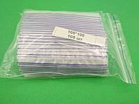 Пакеты с замком застежкой струна зиплок zip-lock 10х10 (100шт/пач), фото 1