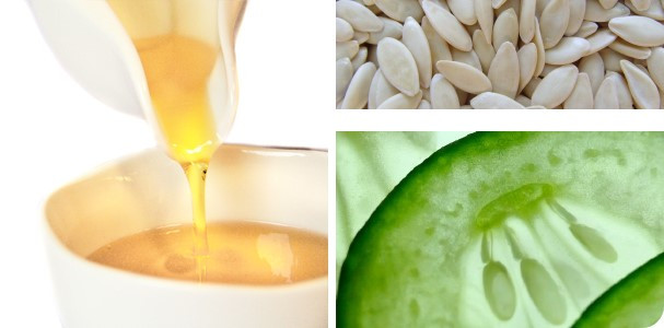 Масло семян огурца, рафинированное