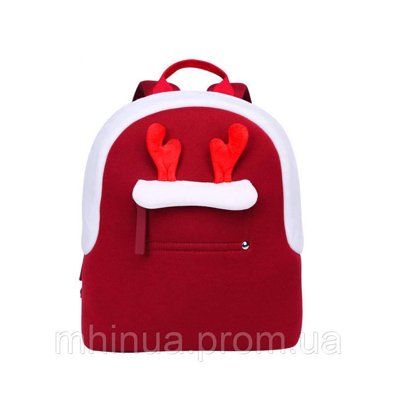 Детский рюкзак Nohoo Олень Большой Красный (NHQ009)