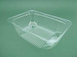 Контейнер пластиковый для салатов и полуфабрикатов ПС-141 (V750мл\180*130*60) (50 шт)