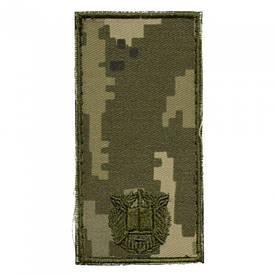 Погон на липучке ВСУ полевой нового образца курсант ММ-14