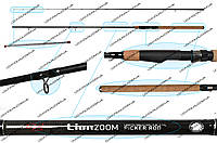 Пикерная удочка LionZoom Picker rod, 300cm, 3-15g, CZ1923 (Со сменными вершинками))
